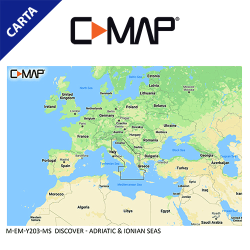 C-Map Cartografía C-MAP-EM-Y200-CMAP