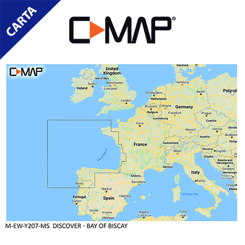 C-Map Cartografía C-MAP-EM-Y207-CMAP