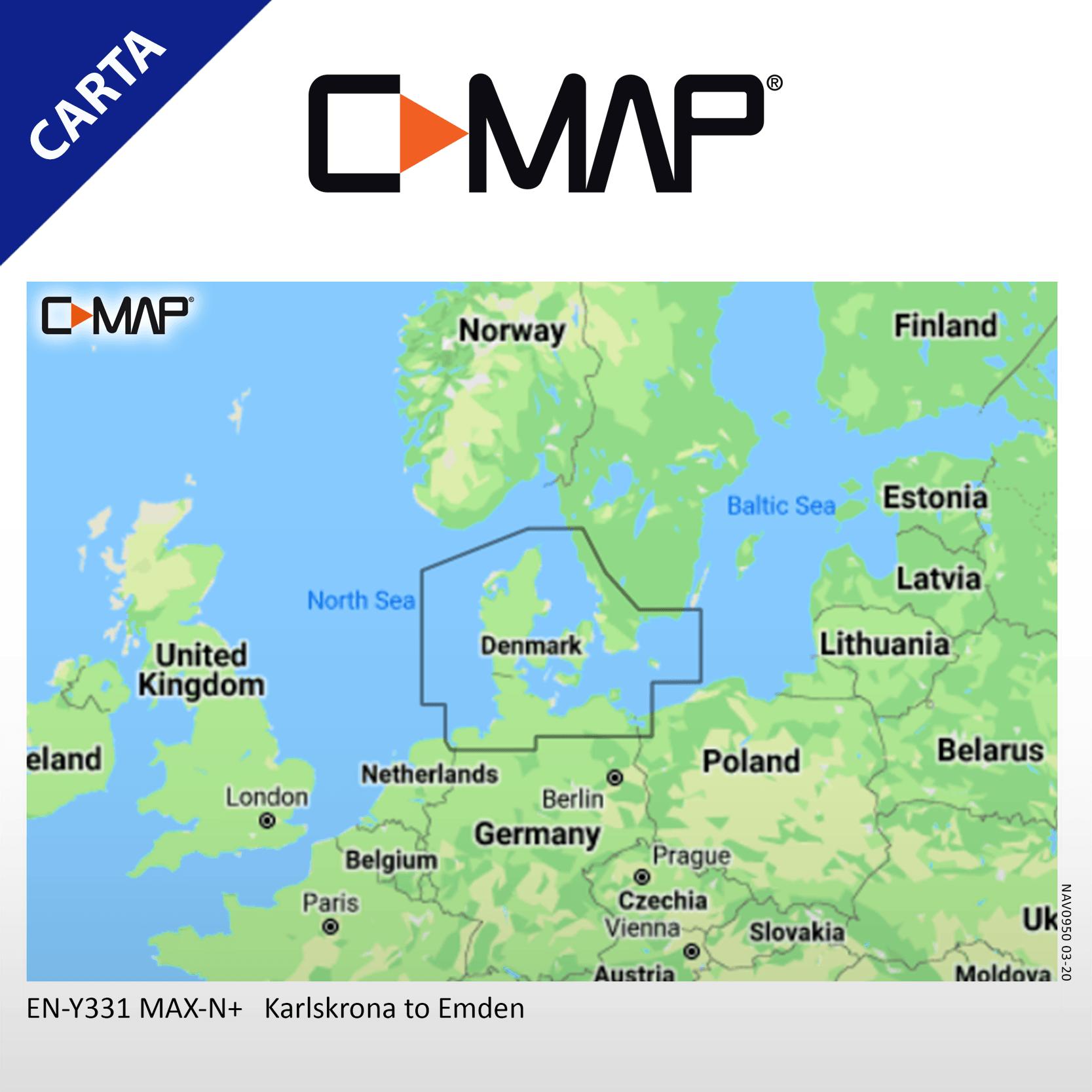 C-MAP-EN-Y331 Carta CMap