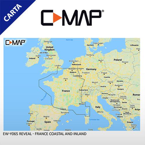 C-Map Cartografía C-MAP-EM-Y065-CMAP