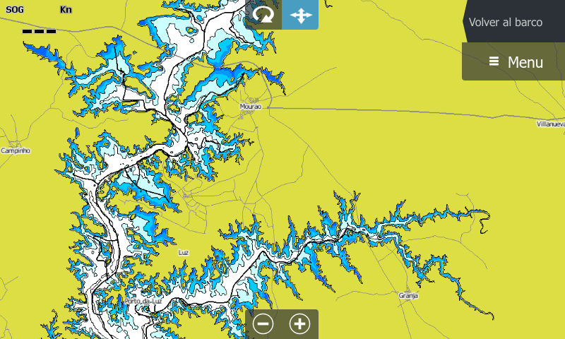 Compass eMaps Alqueva Lake