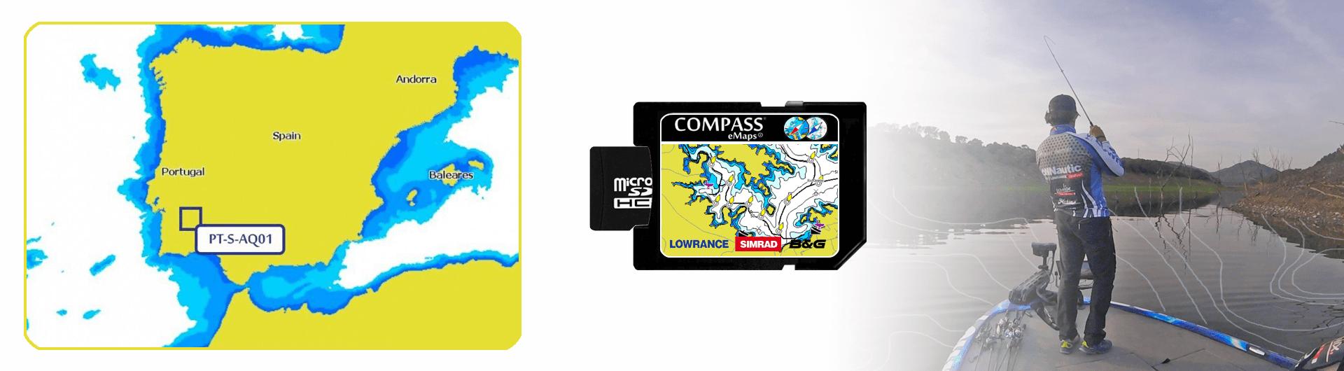 Alqueva Lake Compass eMaps