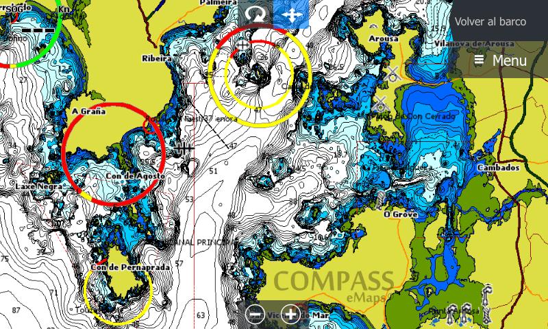 Cartografía Compass eMaps E+
