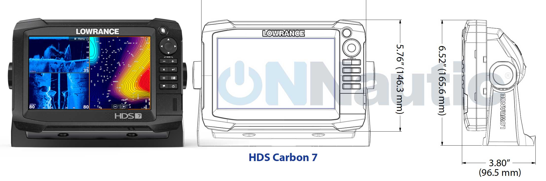 Lowrance HDS7 Carbon