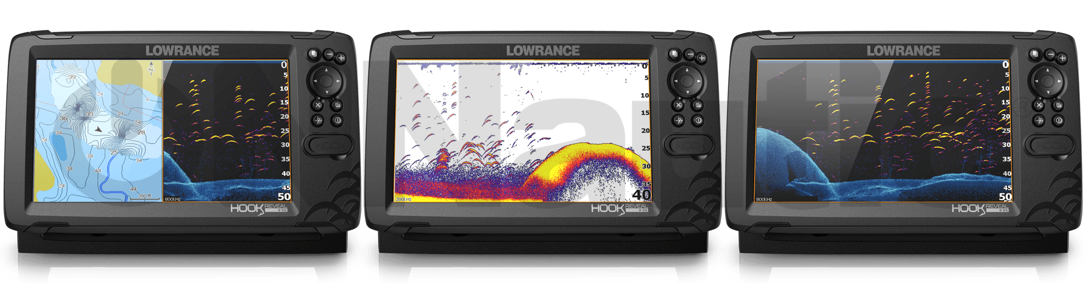 Lowrance Hook Reveal 9 HDI 50-200