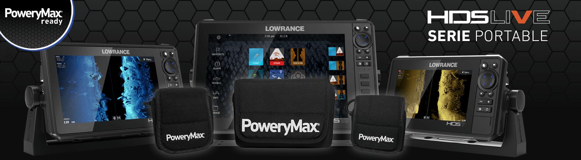 PoweryMax Ready Lowrance HDS LIVE