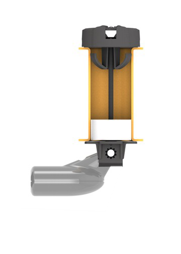 Lowrance Soporte transductor kayak