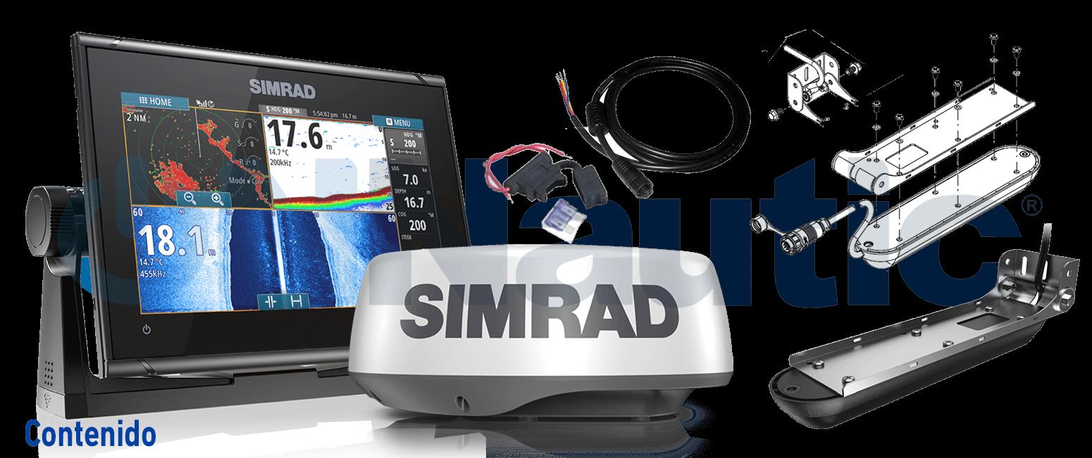 SIMRAD GO9 XSE Active Imaging Radar Halo20 Plus