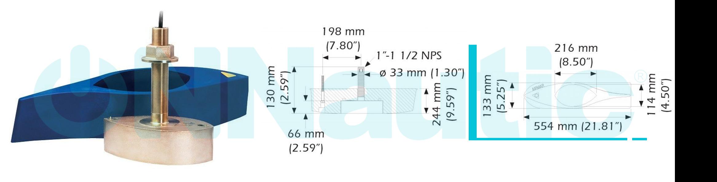 Grafico de Profundidad B275LH-W