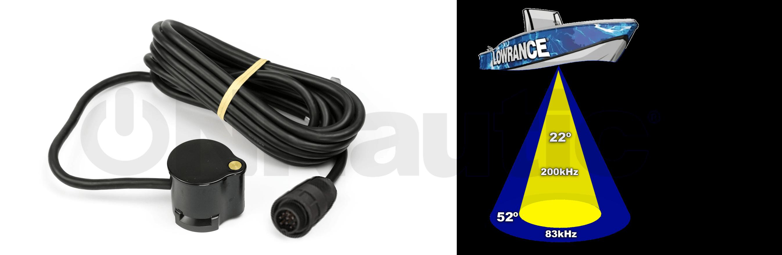 Lowrance 83-200 Transducer