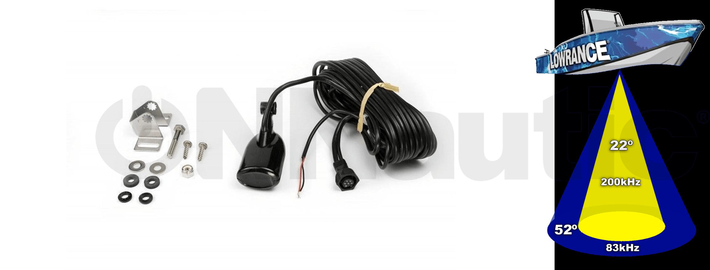 Transductor Popa HST-WSU 83/200 Lowrance