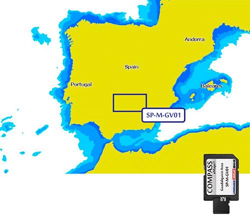 Cartografía Compass Guadalquivir área