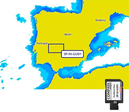 Cartografía Compass Guadiana área