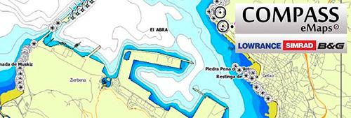 Cartografía Compass eMaps Basic