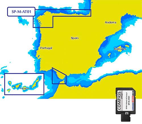 Cartografía Compass Spain Atlantic & Canary Islands