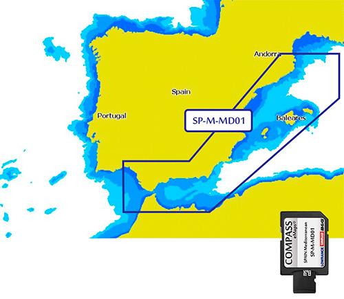 Cartografía Compass Spain Mediterranean