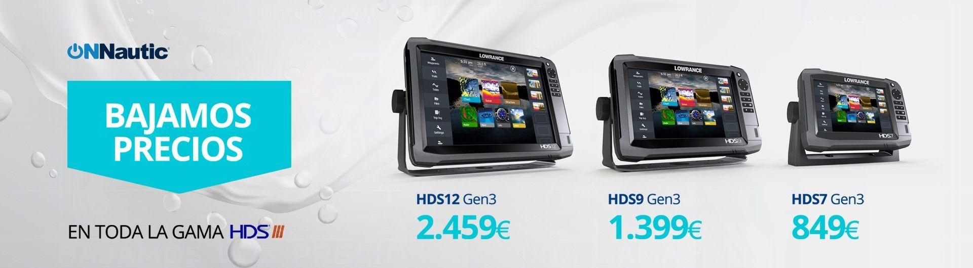 La mejor oferta en Lowrance HDS Gen3