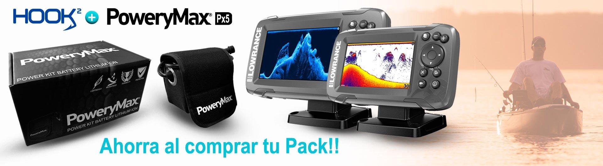 Nuevos Packs Lowrance con PoweryMax